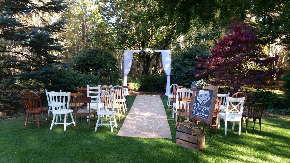 Why Have A Garden Wedding