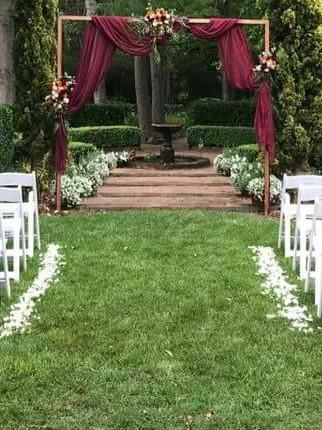 The art of rose petal scattering. » The Secret Garden » Southern ...