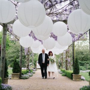 rainy wedding chinese lantern wisteria plus size bride ceremony reception wildes meadow burrawang robertson wollongong cheap wedding sydney venue wild wedding unique wedding new south wales