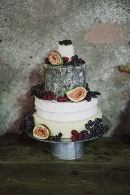 How To Make A Wedding Cake.How To Make An Amazing Cheese Tower Wedding Cake The Secret