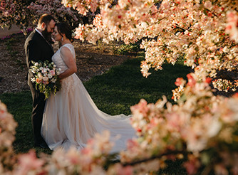 Cherry blossom garden wedding spring september cheap wedding southern highlands bowral wollongong south coast robertson burrawang wedding photography crab apple blossom